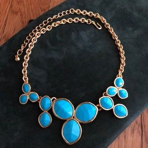 Breastplate with blue & gold ornament. Never worn.